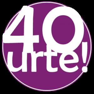 40 urte