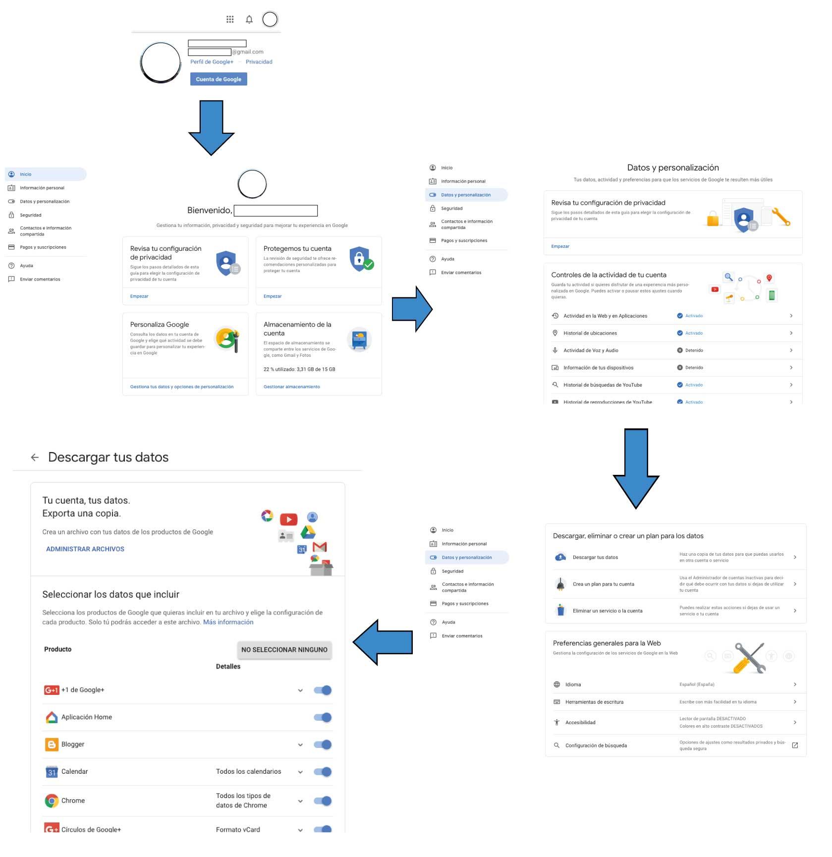 Google+-cierra-como-guardar-datos
