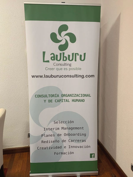 Diseño de roll up para evento