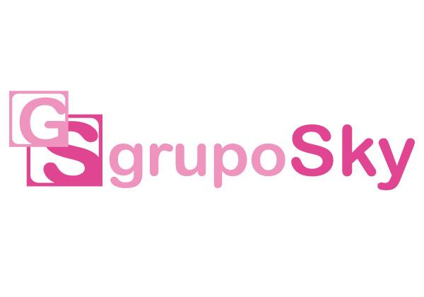 Logo Grupo Sky | Alunarte diseño y comunicación | Vitoria-Gasteiz