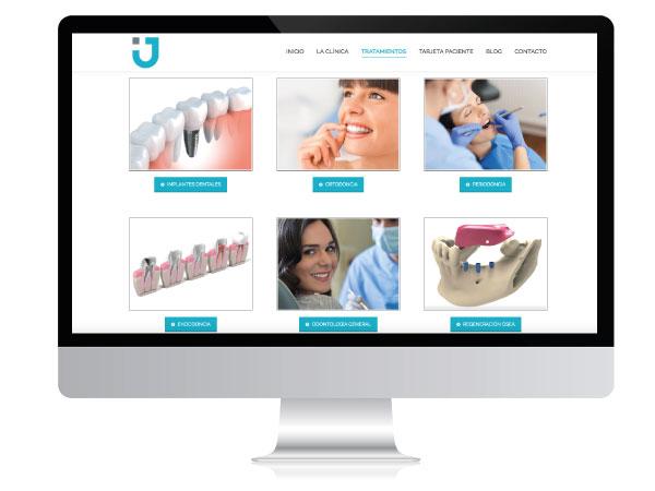 Página web para clínica dental | Alunarte diseño y comunicación | Vitoria-Gasteiz